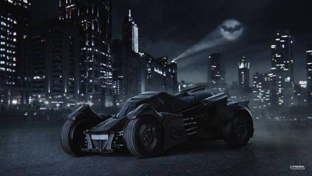 Fear of Gotham by maxasabin