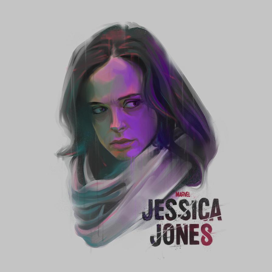 Jessica Jones by maxasabin
