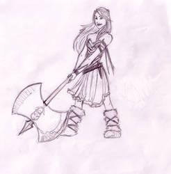 viking chick