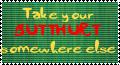 Butthurt Stamp