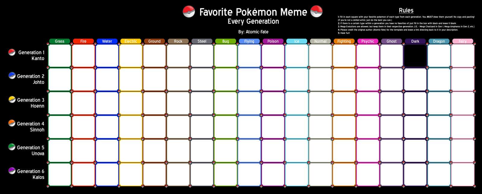 favorite pokemon meme by i am bleu on deviantart