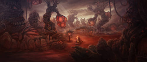 Blood forest 2 by yumor