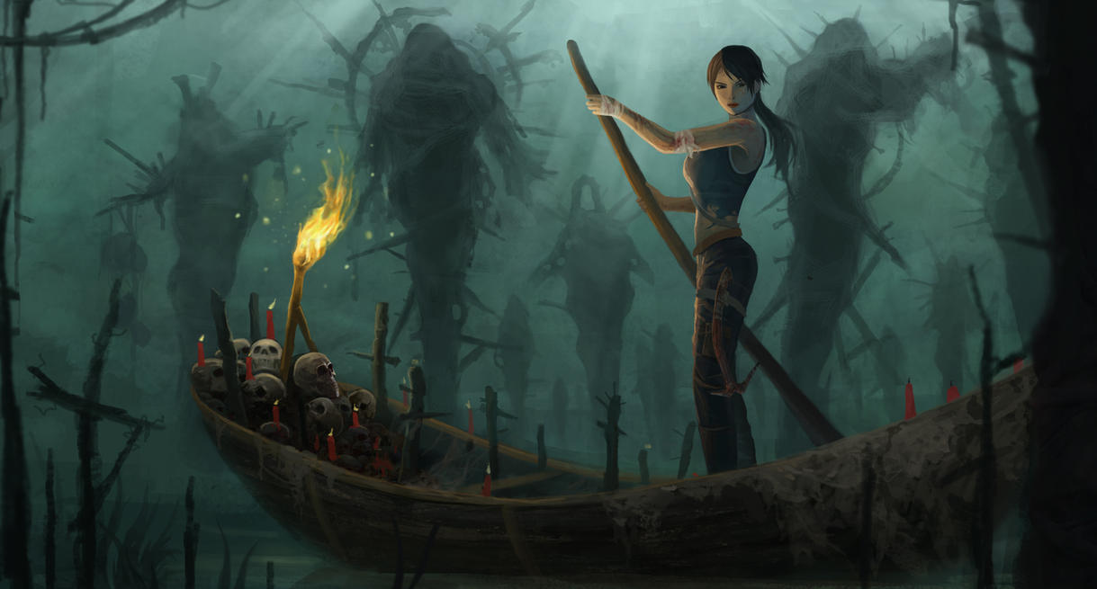 Tomb Raider by yumor
