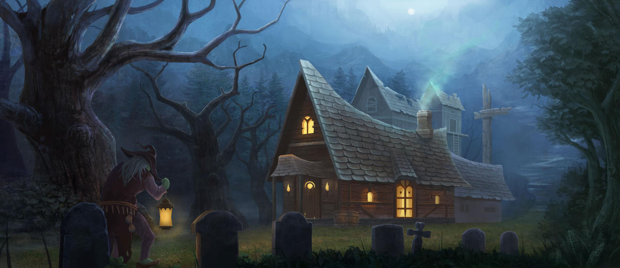 Witch House By Yumor ...