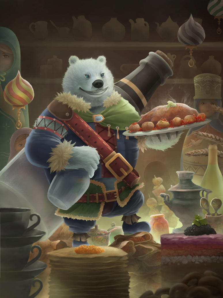 Vodka Bear by yumor