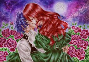 Erza and  Jellal by Taiyo-ta