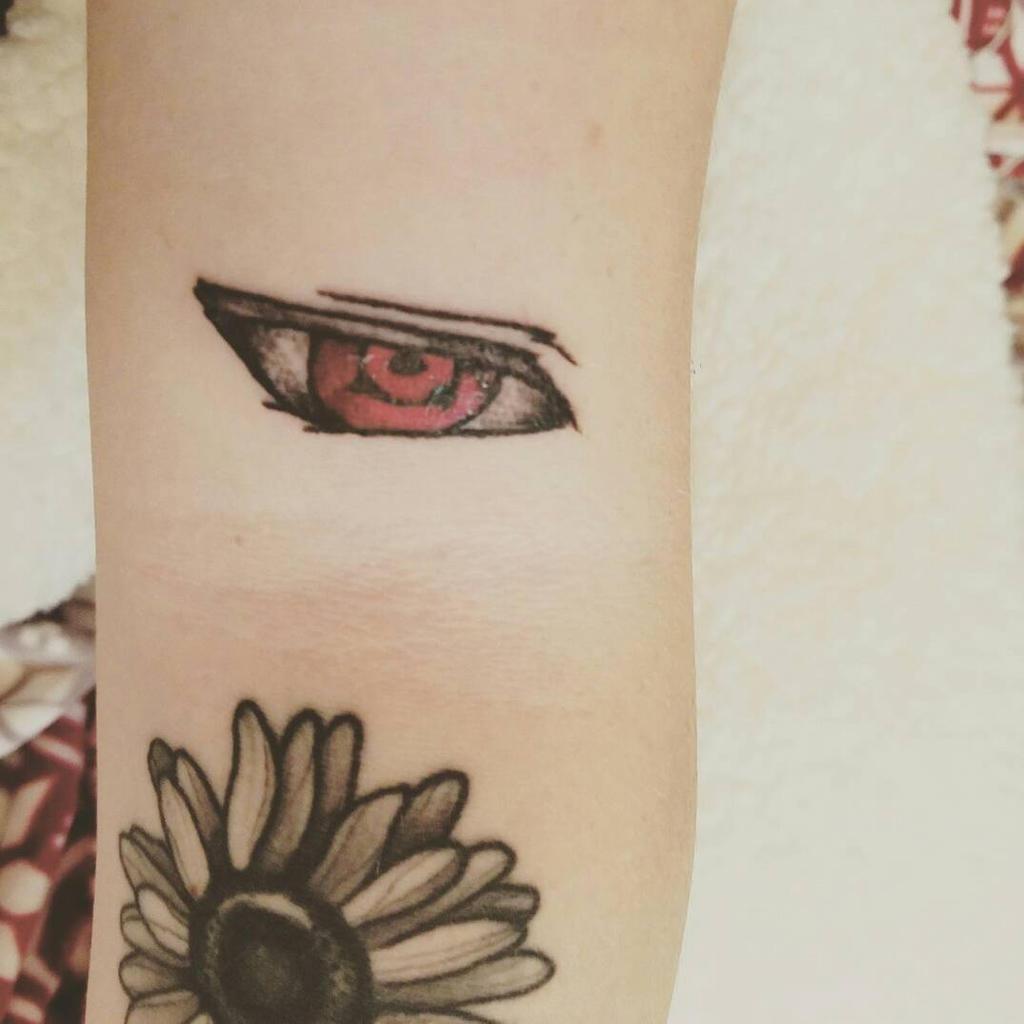 Tattoo sharingan 101 Awesome