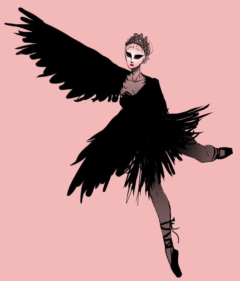The Black Swan by Skaista-Lelle