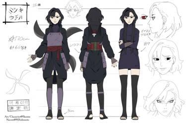 Naruto OC Reference  Mitsuki Uchiha