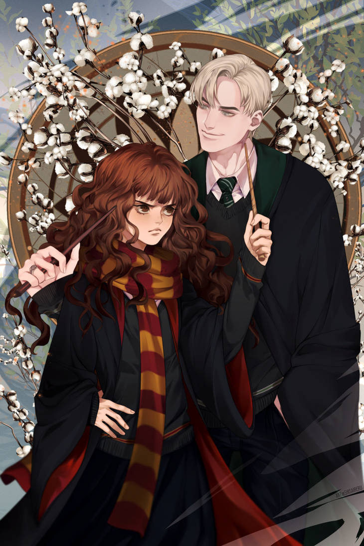 Fanarts By Oscar Amador Rojas: Dramione By Shisaireru On DeviantArt