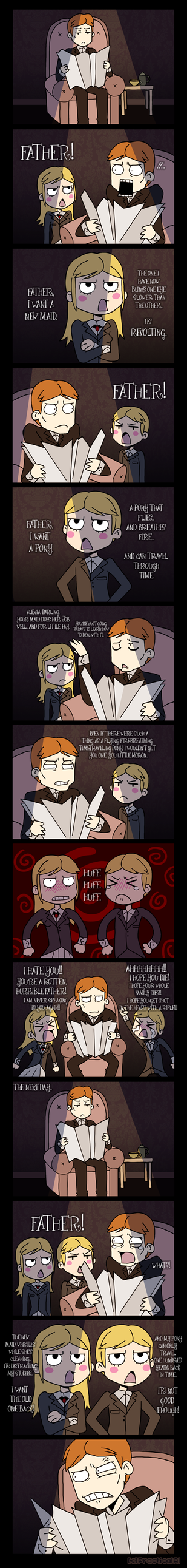RE - Comic 002 by PracticalAl