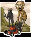 RESIDENT EVIL 7: MY MOWER!