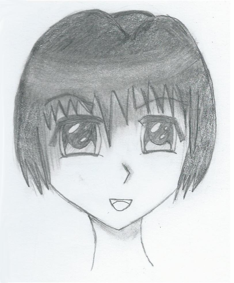 Just a manga girl by SkullkaNika