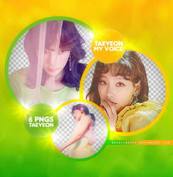 SNSD Taeyeon [My Voice] Png Pack