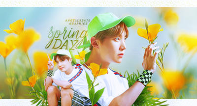 Spring Day JHope [Signature] by AngellBeats