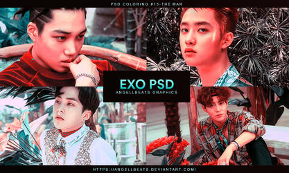 EXO [The War] PSD by AngellBeats