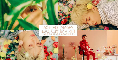 EXO CBX [Blooming Day MV] Photopack by AngellBeats