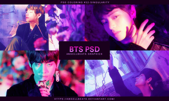 BTS [Singularity] PSD by AngellBeats