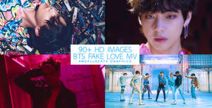 BTS [Fake Love MV] Photopack