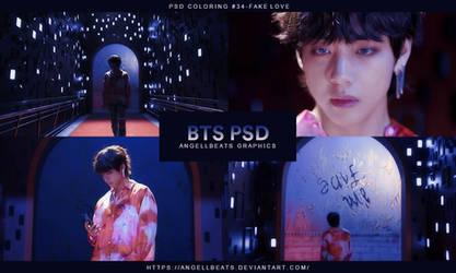 BTS [Fake Love] PSD by AngellBeats