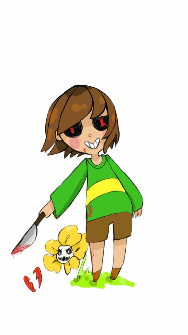 Chara Colored by airilove