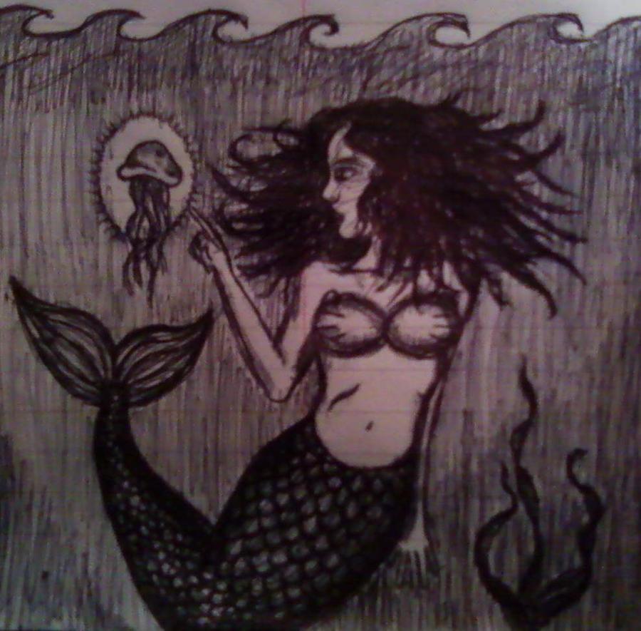 Mermaid meets Jellyfish by MetalFaie