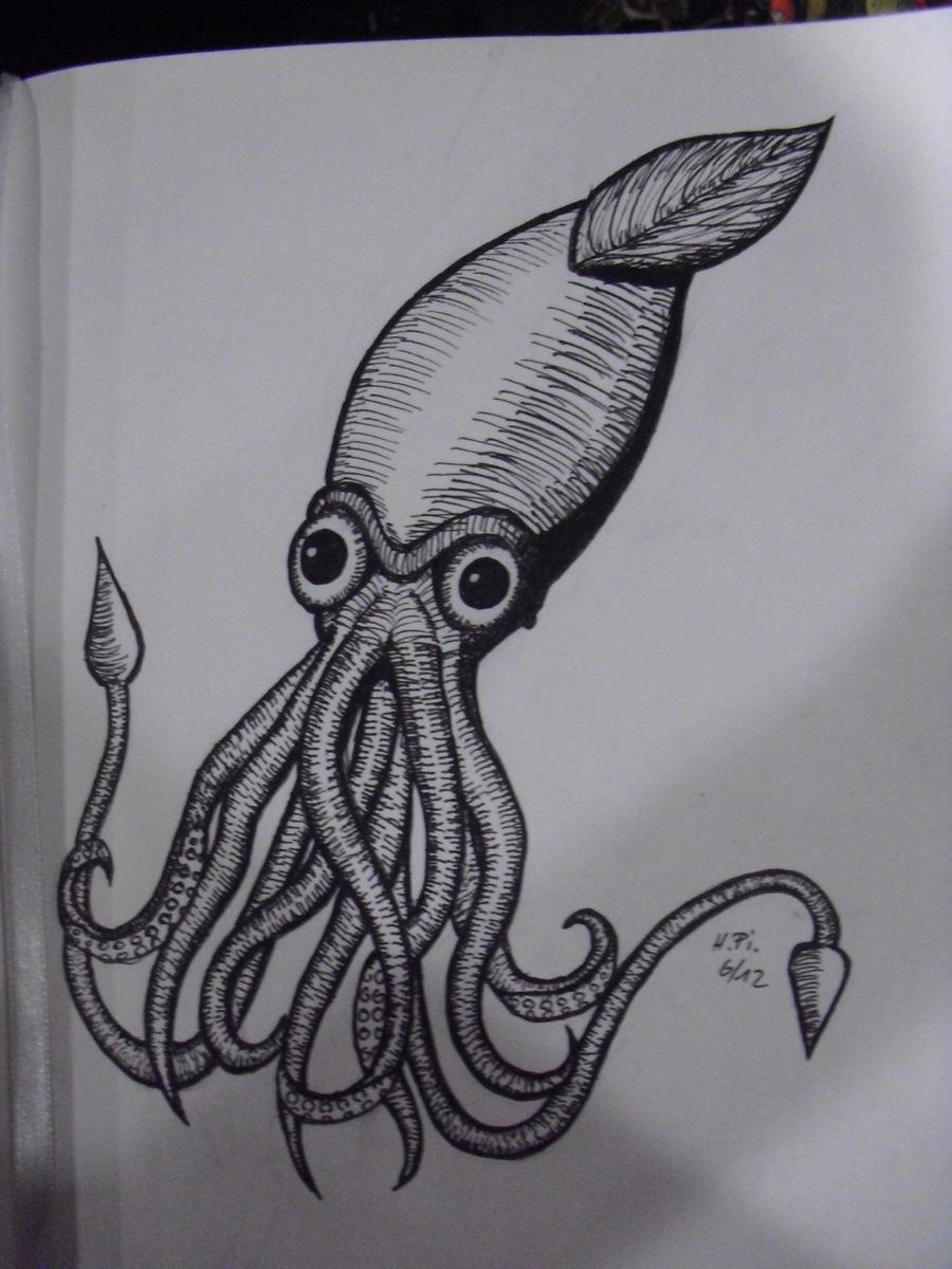 Squid by MetalFaie