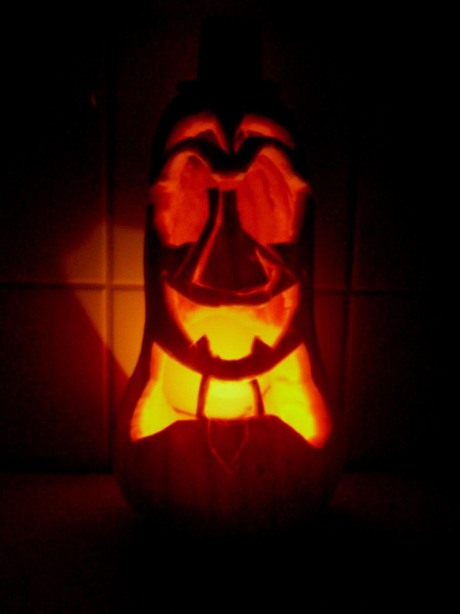Mr Pumpkin by MetalFaie