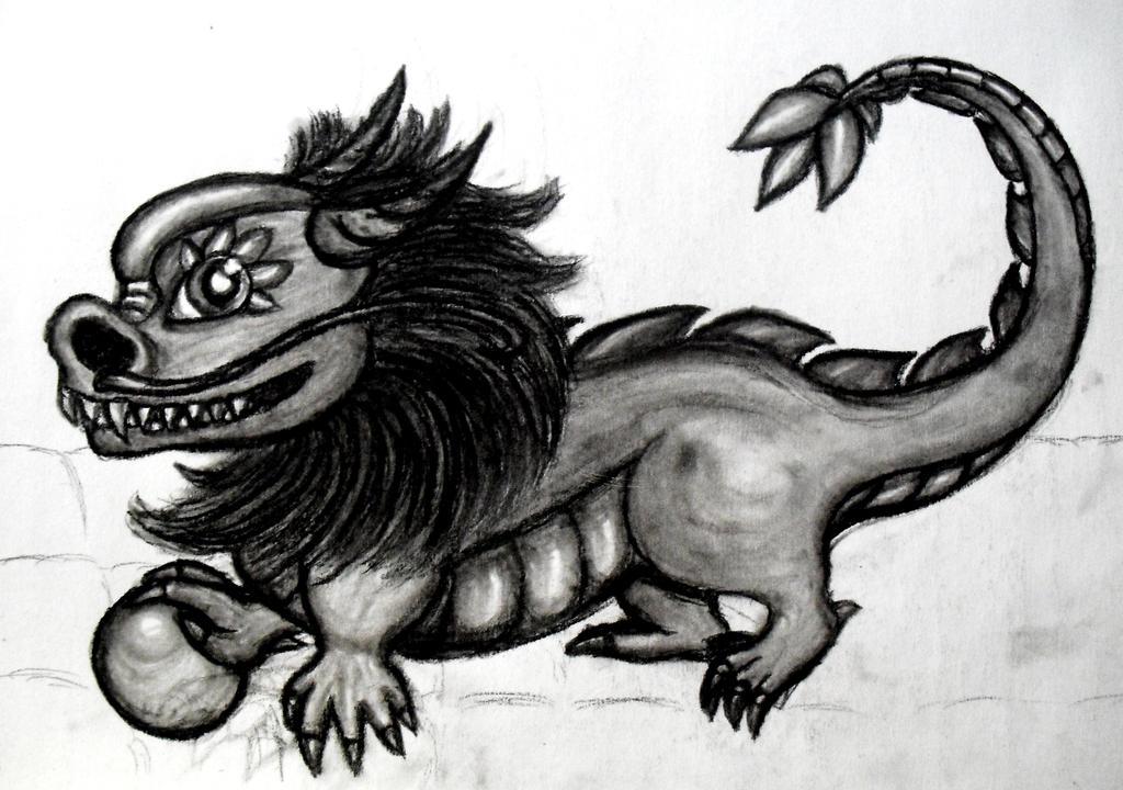 Liondragon by MetalFaie