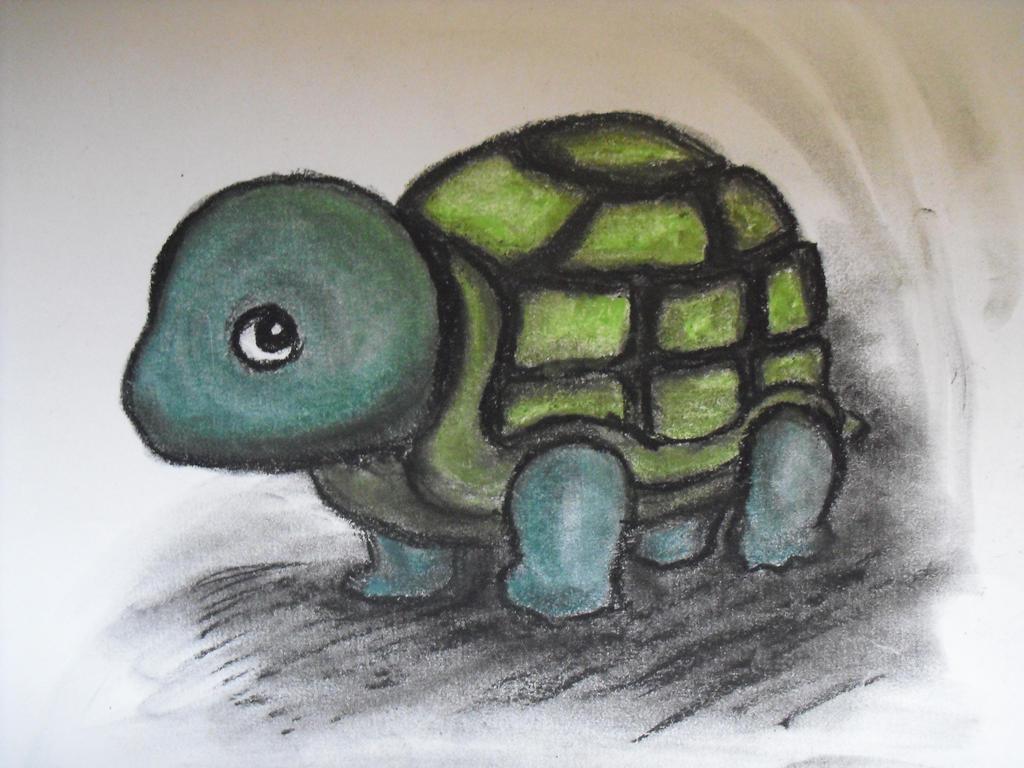 Shy Tortoise by MetalFaie