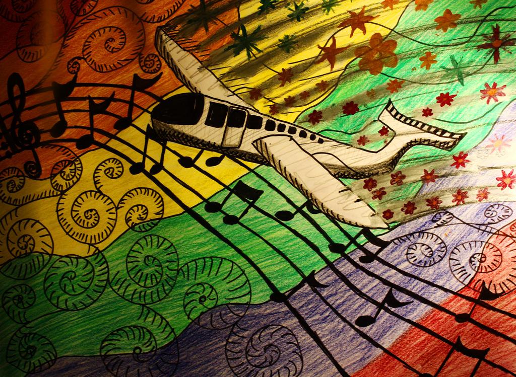 Music is my aeroplane by MetalFaie
