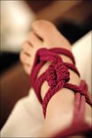 foot tie by lilbittydemon