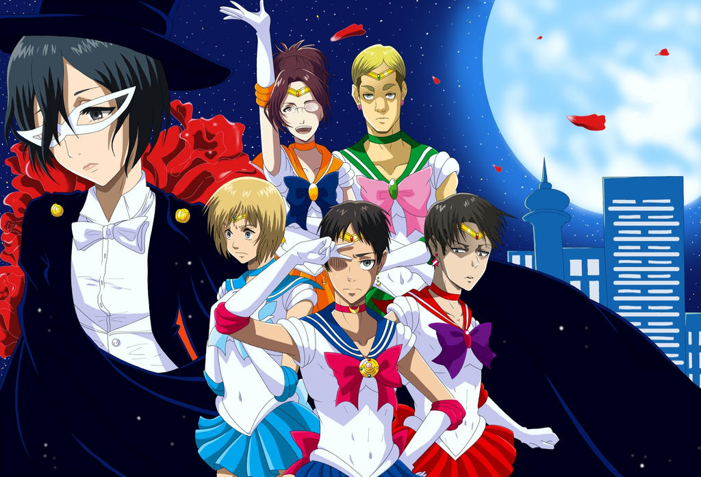 Attack On Sailor Moon by kyio-chan