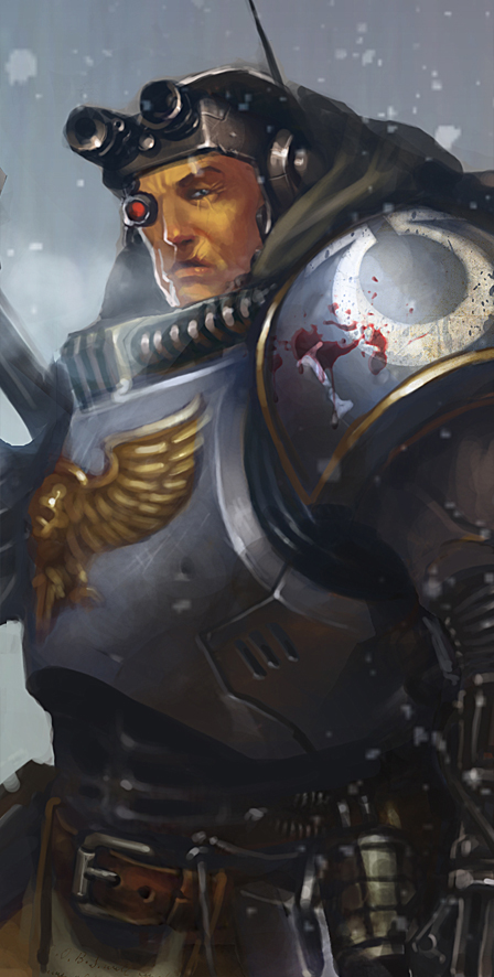 warhammer by MikhailSavier
