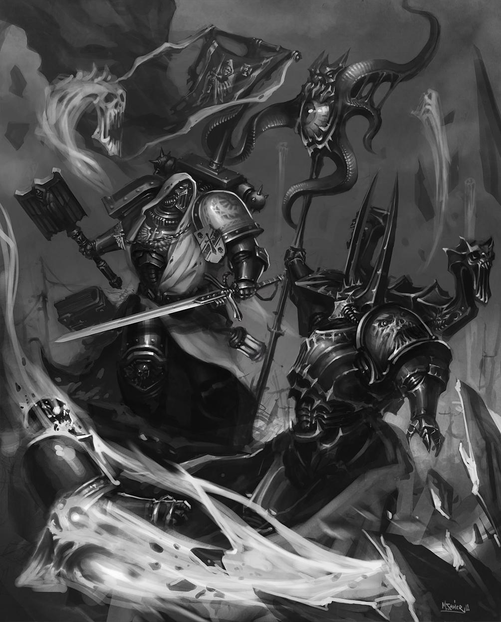 Dark Vengeance by MikhailSavier