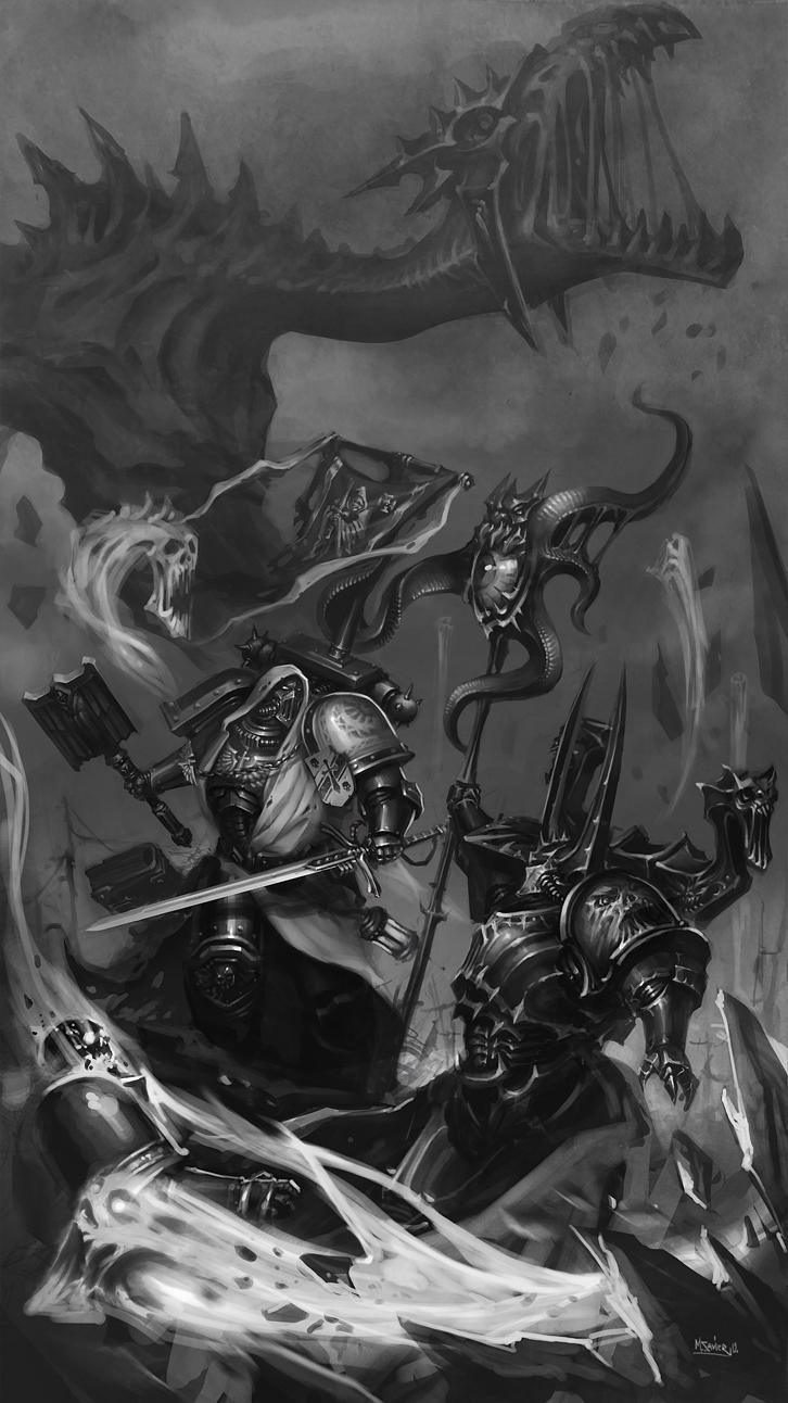 Dark Angels by MikhailSavier