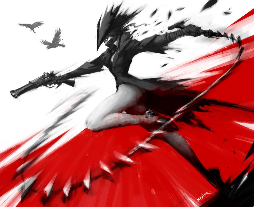 Blood by MikhailSavier