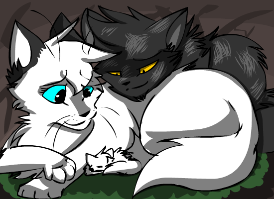 Warrior Cats Thistleclaw And Snowfur