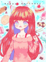 Happy birthday Shimmi chan ! by Suna--Chan