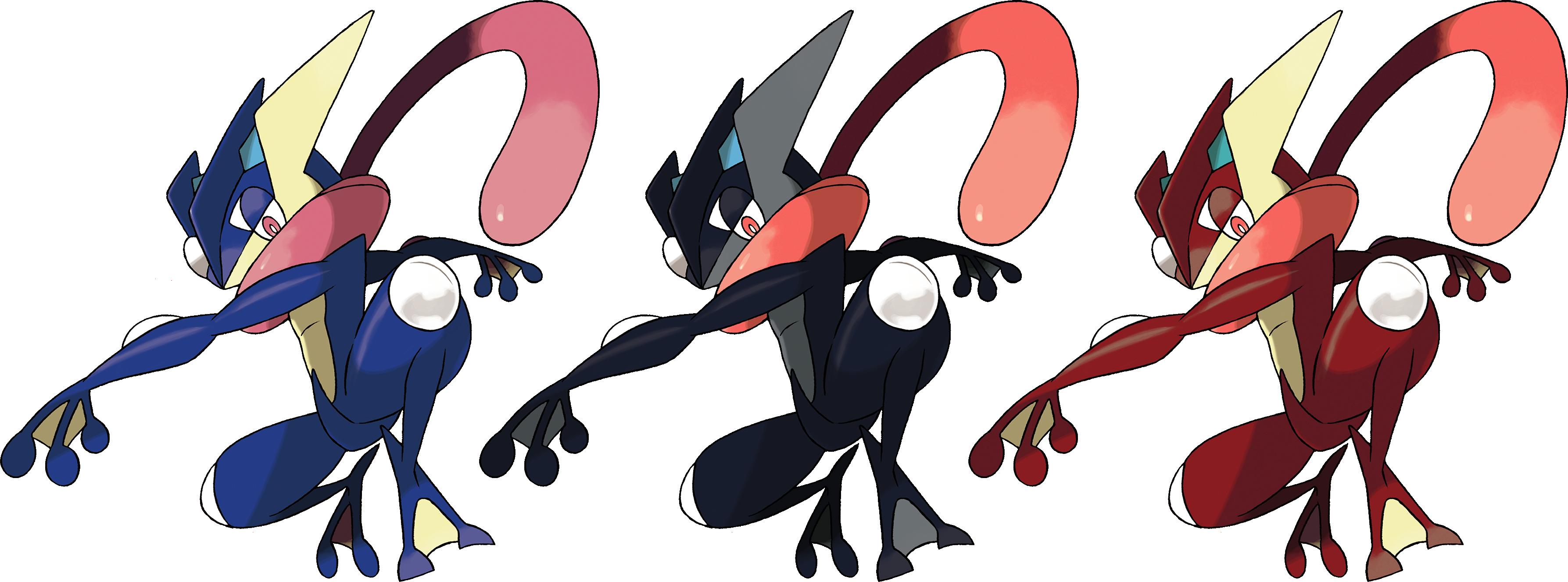 greninja shiny pokemon mega evolution deviantart krocf4 fan sonic anime characters pre