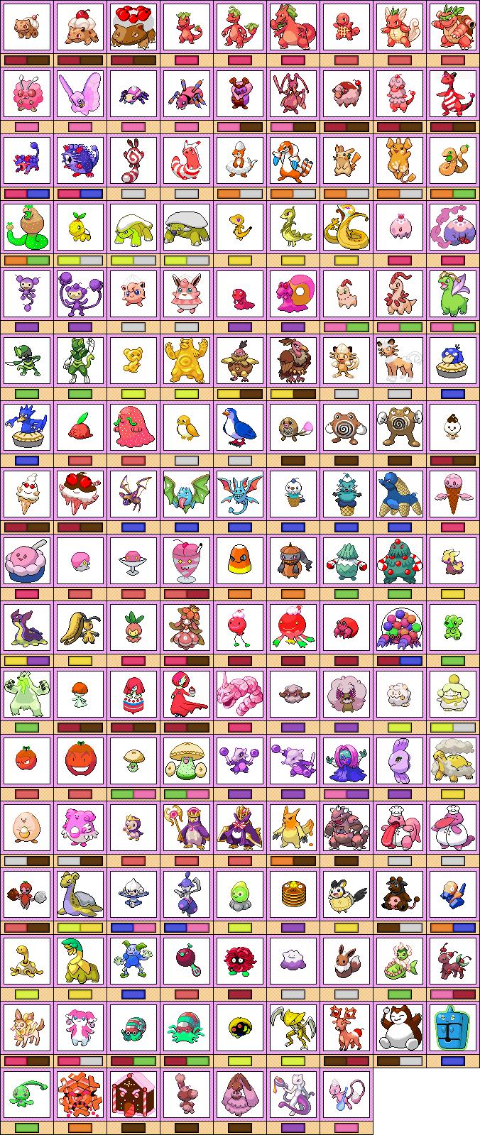 Pokemon Sweet Cookbook By Krocf4 On Deviantart