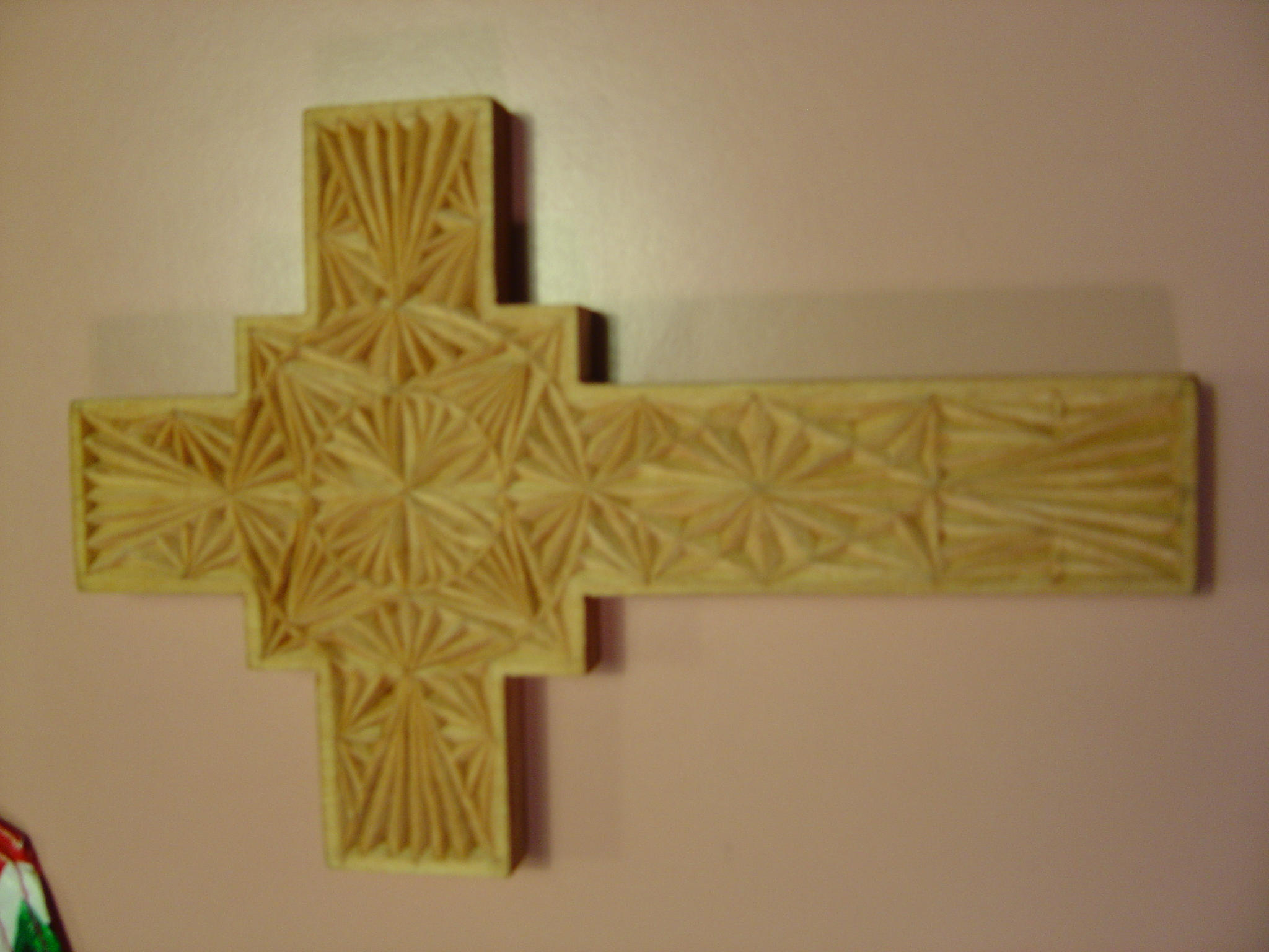 Old chip carved cross by testofirony on deviantart