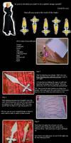 *Item for sale* tutorial: Larxene knives