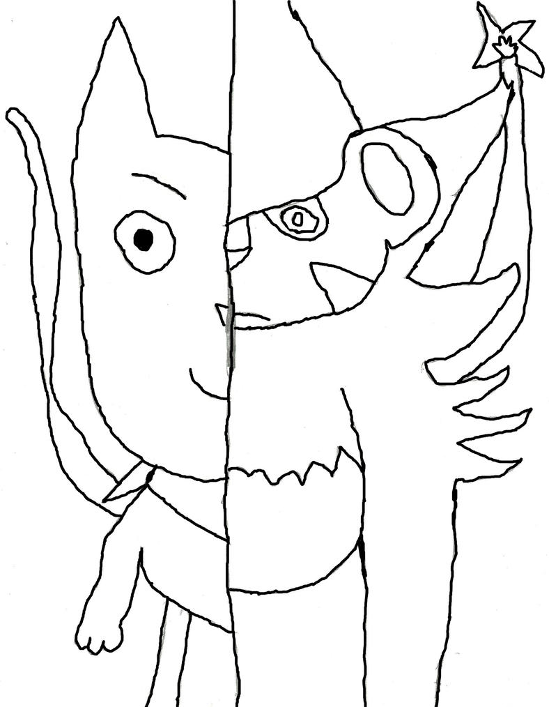 Pokemon Luxray Coloring Pages Sketch Coloring Page