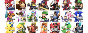 My SSBU Mains (updated)