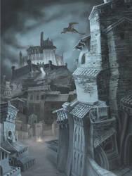 Cityscape: Del by JessHough