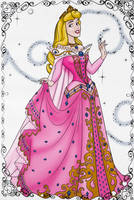 Sleeping Princess Aurora by heresjoc