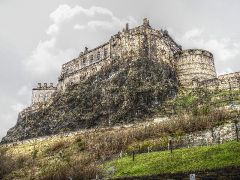 Edinburgh castle by videoai