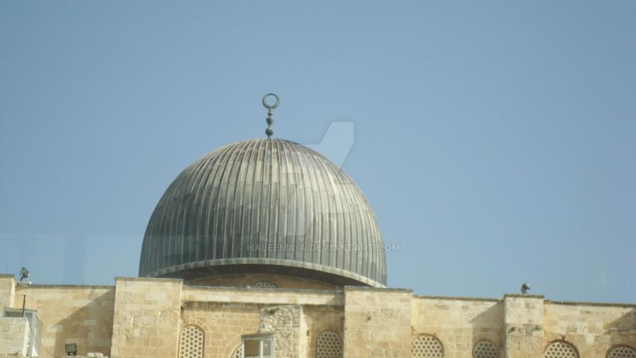 Masjid Alaqsa by Haleema-A