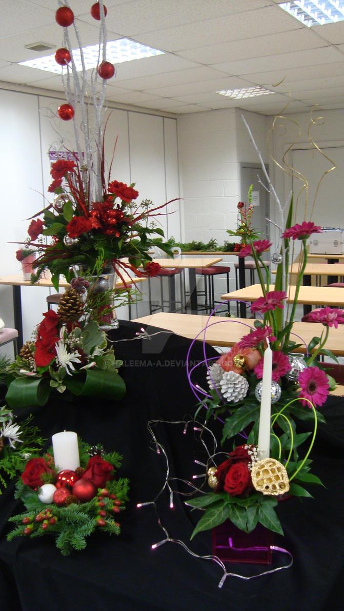 Xmas Table arrangement